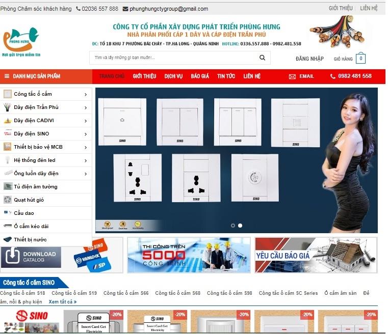 Trang Web chính thức của Doanh nghiệp