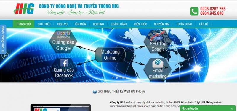 Công ty công nghệ và truyền thông HIG