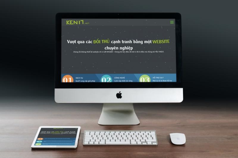 KenIT thiết kế web chuyên nghiệp giá rẻ tại Đà Nẵng