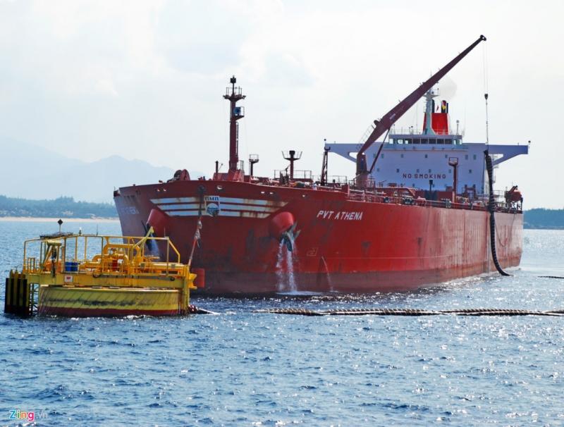 Tàu chở dầu thô Dung Quất