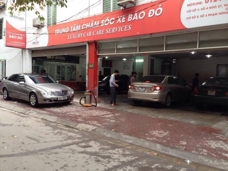 Trung tâm chăm sóc xe Báo Đỏ