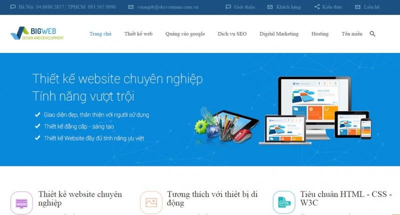 Công ty CP Công nghệ Truyền thông Sky Việt Nam (Bigweb)