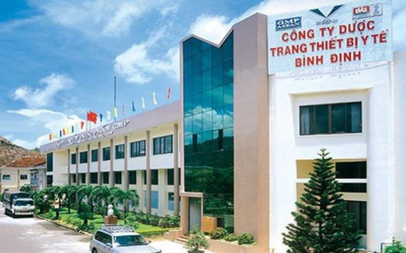 Công ty Cổ phần Dược và Trang thiết bị Y tế Bình Định