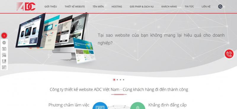 Thiết kế website thẩm mỹ viện, spa, làm đẹp