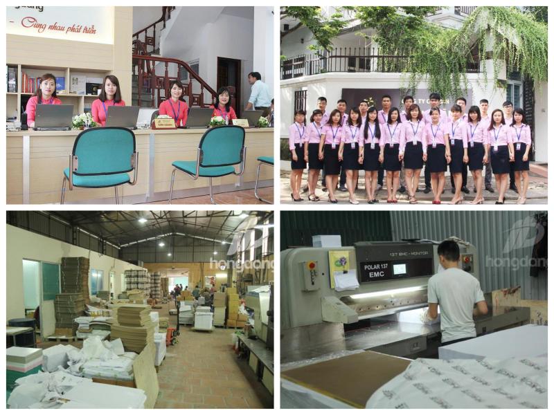 Xưởng sản xuất công ty in Hồng Đăng