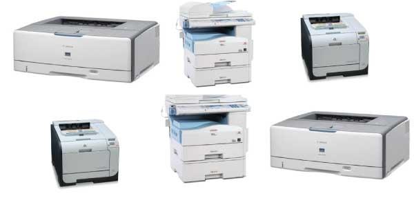 Đa dạng các loại máy in văn phòng