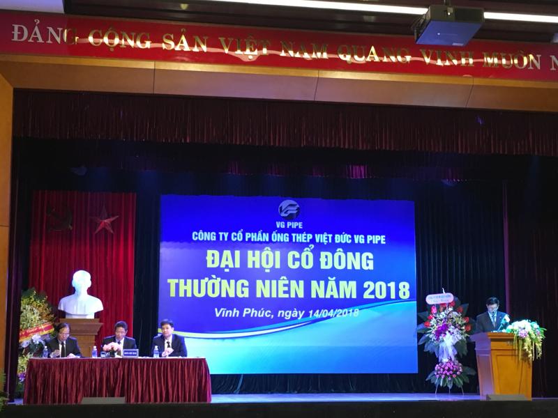 Công ty CP Ống thép Việt Đức VG PIPE
