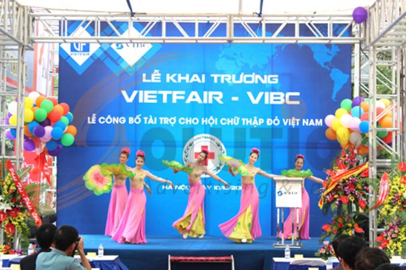 Lễ khai trương trung tâm Thương mại và Triển lãm quốc tế Việt Nam (VIBC)