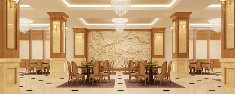 Nội thất nhà hàng sang trọng thiết kế và thi công bởi nội thất 368
