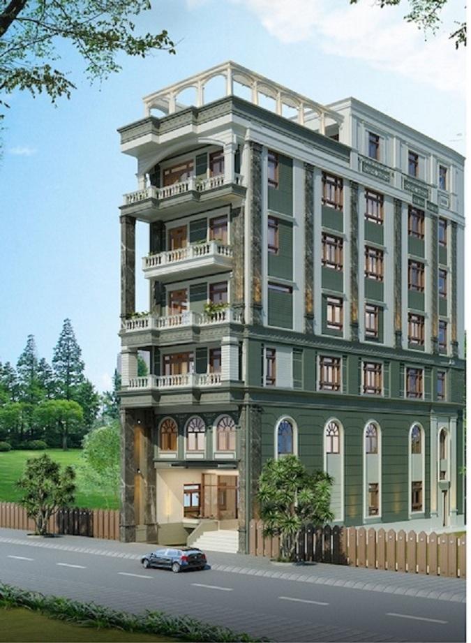 Mẫu thiết kế nhà ở của Công ty CP thương mại xây dựng Cần Thơ