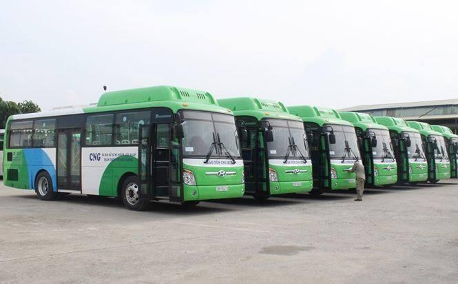 Quảng cáo tay cầm xe bus của SSM