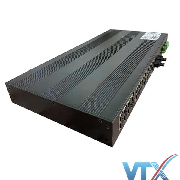 Switch chia mạng công nghiệp 24 cổng 10/100M + Quản lý 2 cổng 100Base-FX Upcom PN|IES1026-2F