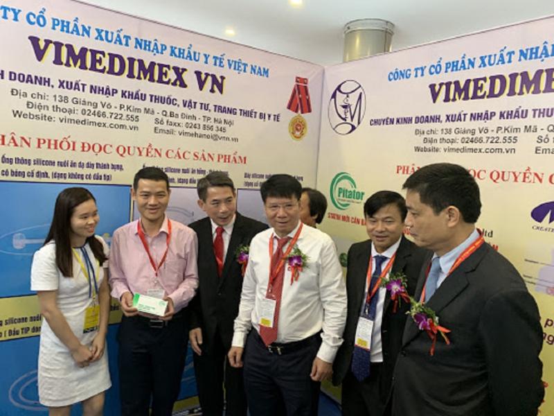 Công ty CP xuất nhập khẩu y tế Việt Nam