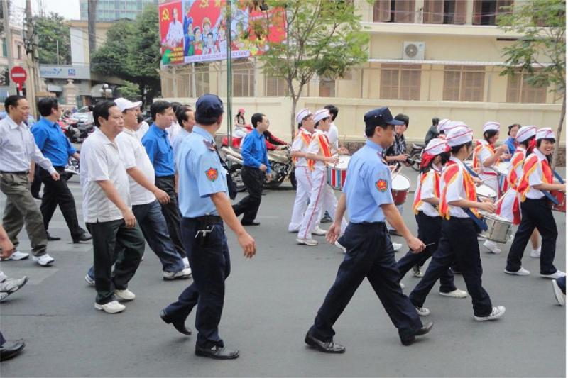 Bảo vệ Thăng Long – bảo vệ cho trường học