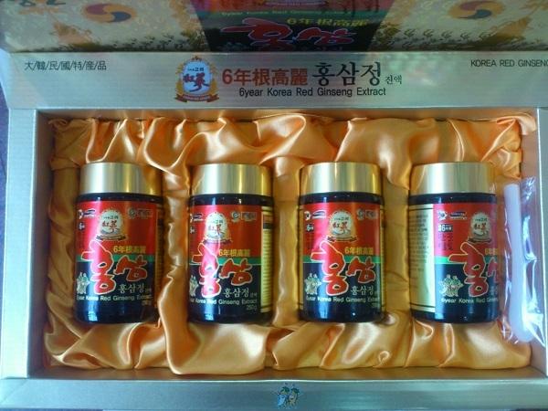 Công ty Sâm linh chi Hàn Quốc cung cấp đa dạng các sản phẩm cao hồng sâm