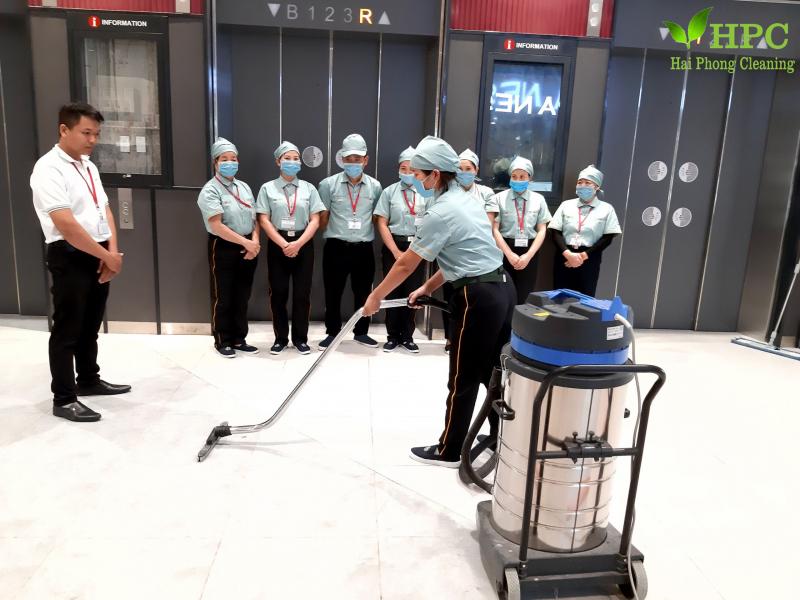 Công ty CPTM và làm sạch công nghiệp Hải Phòng