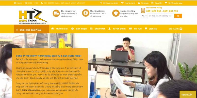 Công ty Máy Xây Dựng Hưng Thịnh