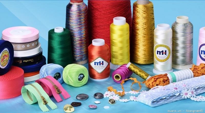 Top 10 Công ty cung cấp phụ liệu may mặc uy tín tại Thành phố Hồ Chí Minh