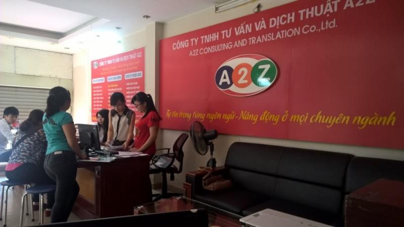 Dịch thuật công chứng chuyên nghiệp A2Z