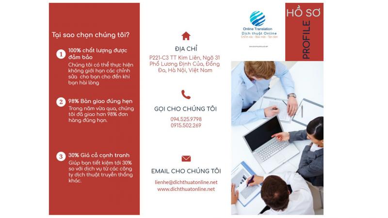 Khách hàng luôn tin tưởng dịch vụ của Công ty dịch thuật Online tại Hà Nội