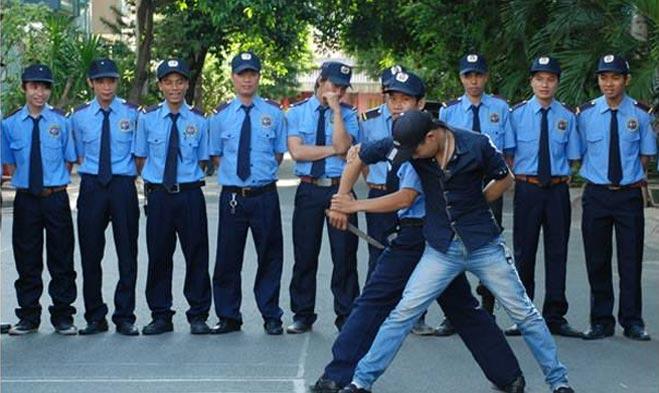 Đội ngũ bảo vệ có sức khỏe và có tâm với nghề