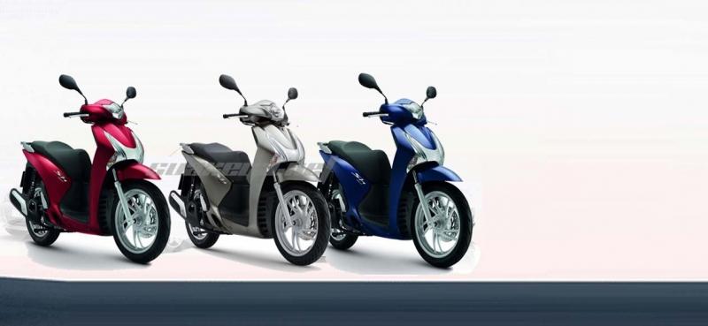 Xe máy cho thuê của công ty dịch vụ cho thuê xe máy Thanh Lan