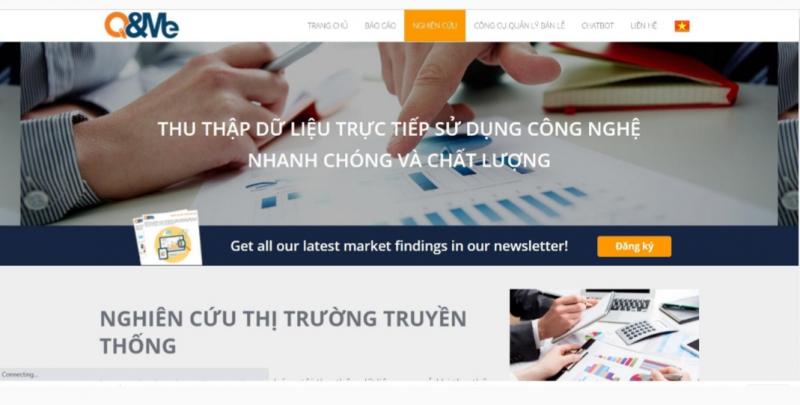 Công ty dịch vụ nghiên cứu thị trường Việt Nam Q&Me