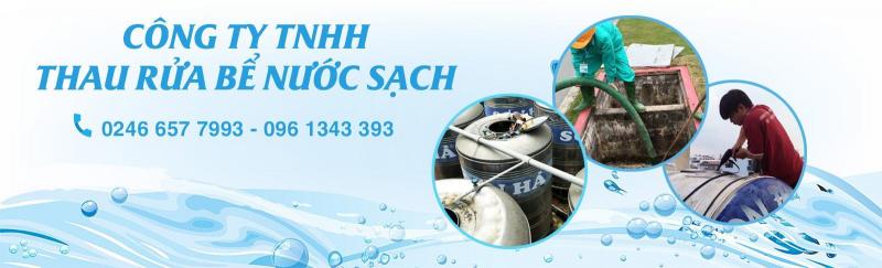 Công ty TNHH Thau rửa bể nước sạch