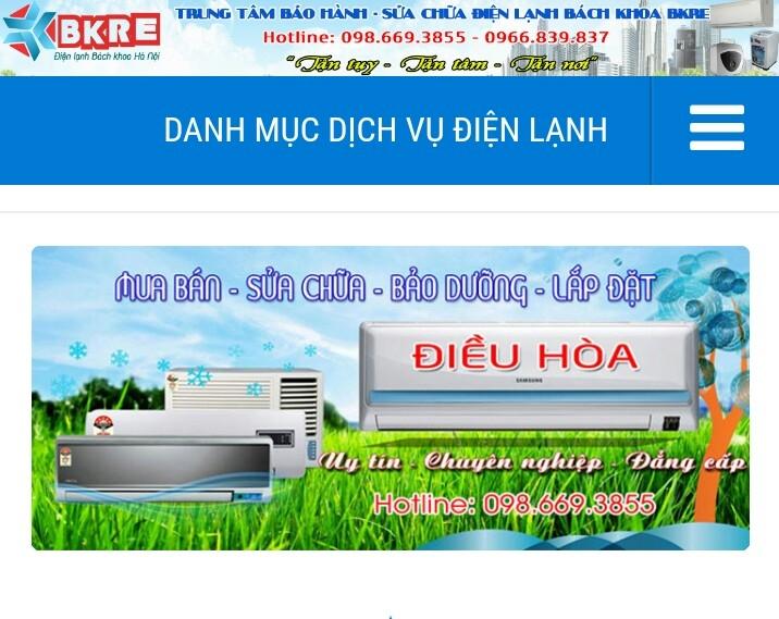 Công ty điện lạnh Bách khoa Hà Nội BKRE