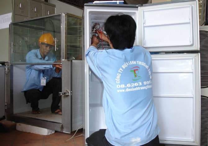 Điện Lạnh Trường Thịnh luôn đảm bảo mang đến cho KH những lợi ích tốt nhất cho chiếc tủ lạnh của mình cũng như thái độ phục vụ của Điện Lạnh Trường Thịnh.
