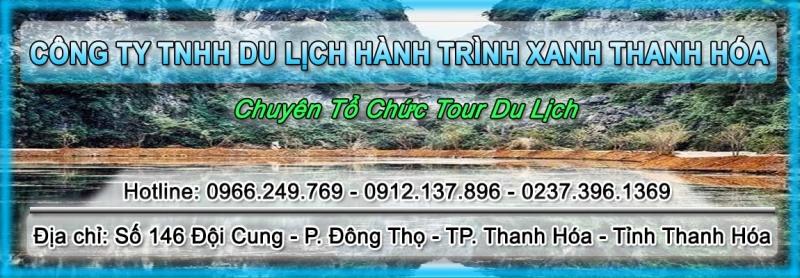 Logo của Công ty TNHH du lịch Hành trình xanh