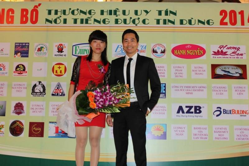 Công ty du lịch Khát vọng Việt được trao giải thưởng thương hiệu nổi tiếng