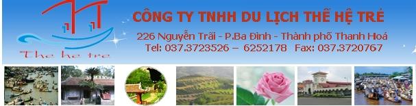 Hình ảnh đại diện website của Công ty TNHH du lịch Thế hệ trẻ