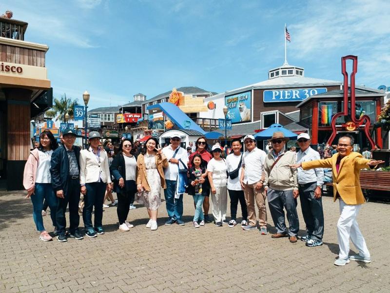 An overseas tour organized by Vietravel