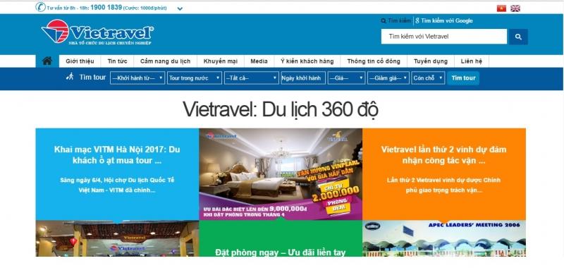 Công ty du lịch Viettravel
