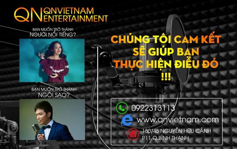 Công ty giải trí QN VIỆT NAM - Công ty đào đạo ca sĩ uy tín nhất TPHCM