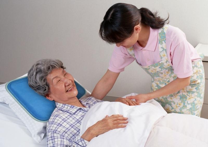 Dịch vụ chăm sóc người già.