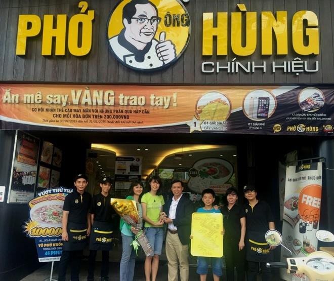 Nhà hàng Phở Ông Hùng