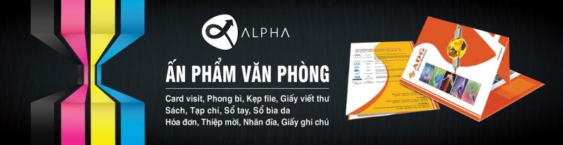 Poster của công ty Alpha
