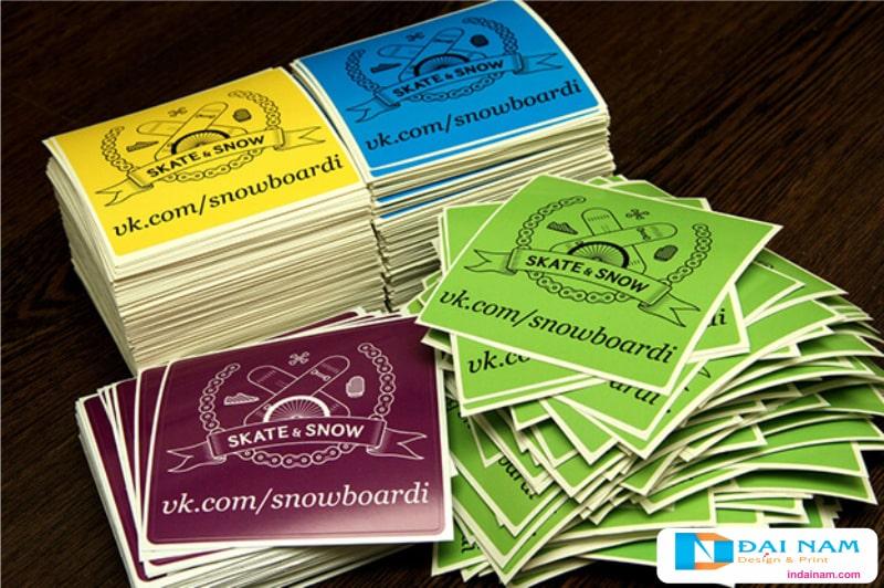 Công ty in Đại Nam đem đến những sản phẩm tem bảo hành cũng như các loại tem nhãn decal khác chất lượng vượt trội.