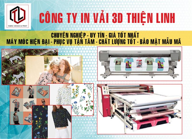 Công ty in vải 3D Thiện Linh