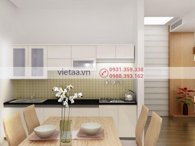 Thiết kế nội thất phòng ăn của Việt AA
