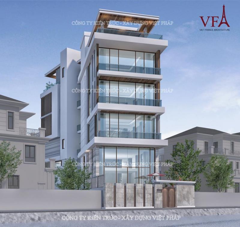 Công ty kiến trúc xây dựng Việt Pháp
