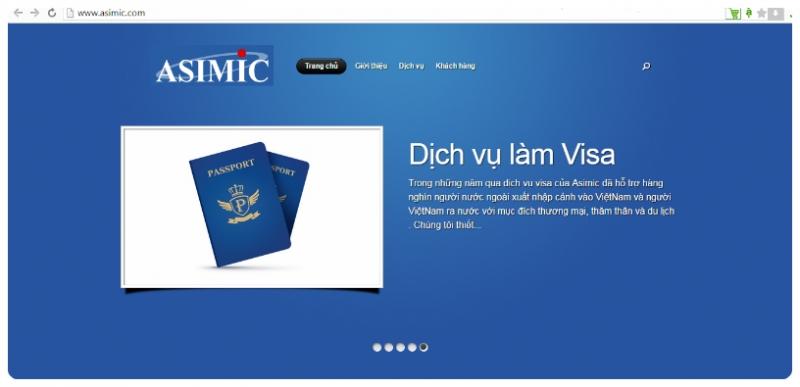 Website của công ty
