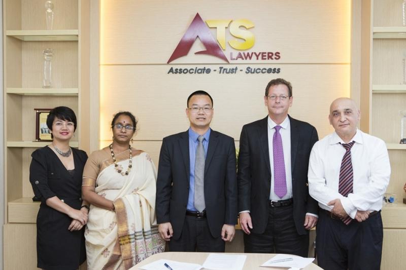 Công ty Luật ATS hợp tác với Công ty Luật Garfield (Mỹ) trong việc