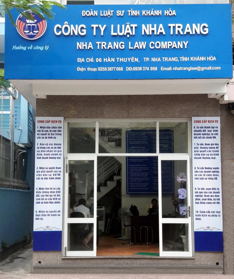 Công ty Luật Nha Trang