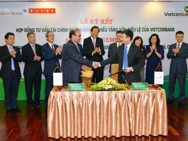 VILAF là đối tác pháp lý với ngân hàng Vietcombank