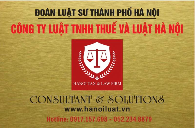 Công ty Luật TNHH Thuế và Luật Hà Nội (Hà Nội Luật)