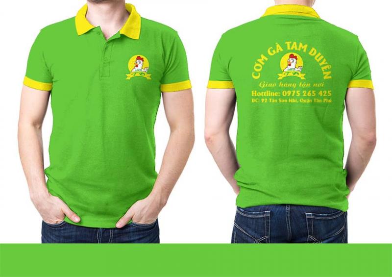 Công ty may đồng phục áo thun Thiên Phước