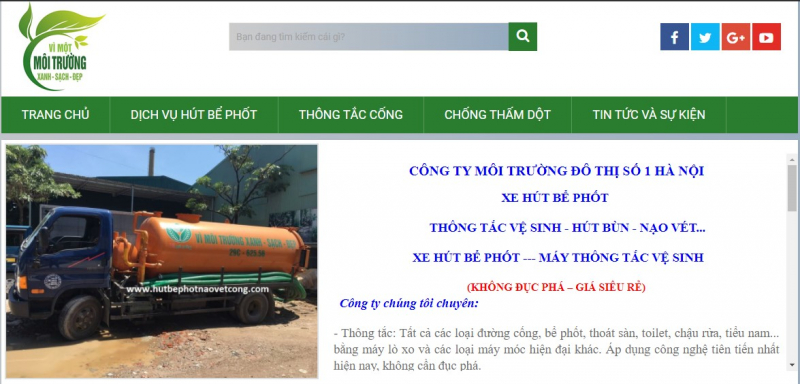 Công ty môi trường đô thị số 1 Hà Nội